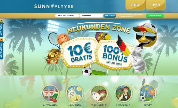 Sunnyplayer Startseite
