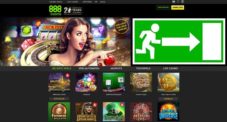 888Casino Startseite