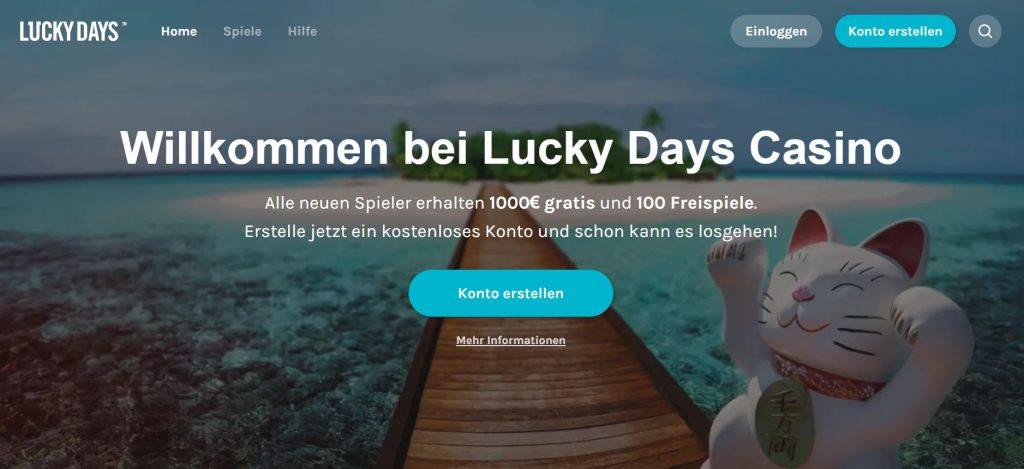 Vorschau Lucky Days Casino